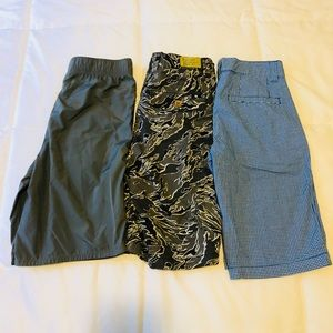 Bundle boy size 10 shorts Abercrombie Tommy Lucky